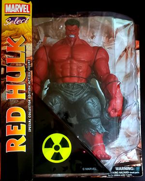 Marvel Select RED HULK Action Figure by Diamond Select for Sale in Vallejo, CA