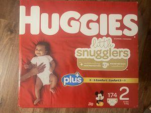 Huggies little snugglers for Sale in San Bernardino, CA