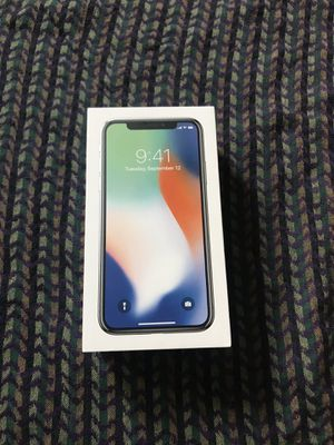 iPhone X 256GB for Sale in Silver Spring, MD