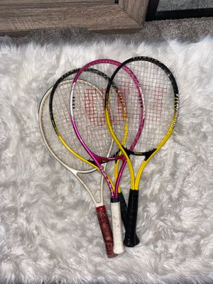 Tennis rackets (four) for Sale in Phoenix, AZ