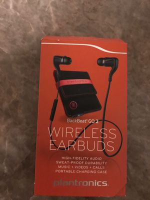 Back beat wireless earbuds for Sale in Westminster, CA