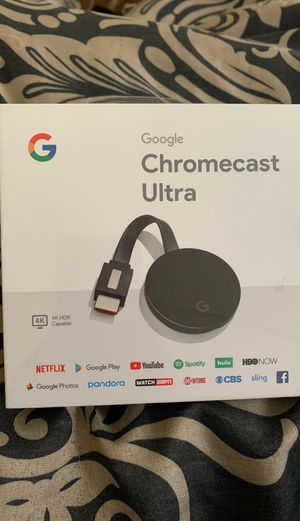 Google Chromecast Ultra for Sale in DORCHESTR CTR, MA