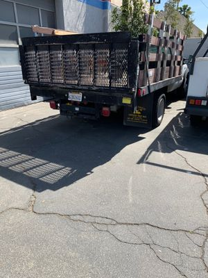 2006 Ford F450 diesel stake bed truck w/ lift gate for Sale in Glendale, CA