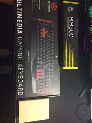 Gaming mouse,keyboard,pad for Sale in Cary, NC