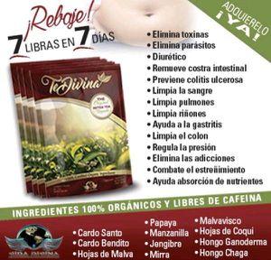 Original Te Divina Detox Tea by Vida Divina for Sale in West Covina, CA