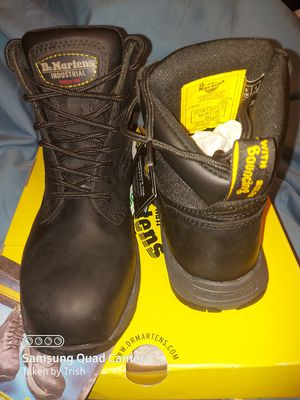 NWT / Dr Martens Composite Toe work boots, unisex 6m/7w for Sale in Bartow, FL
