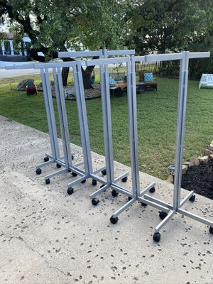 Commercial clothes racks for Sale in Austin, TX