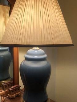 Vintage Blue Lamp for Sale in Ambler,  PA