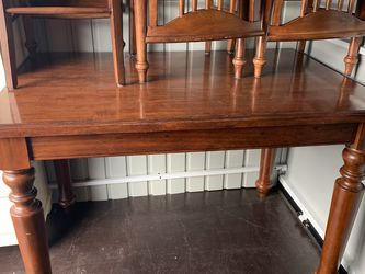 Bar Table With 6 Chairs for Sale in Carbonado,  WA