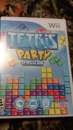Tetris party deluxe nintendo wii cib for Sale in Waterbury, CT