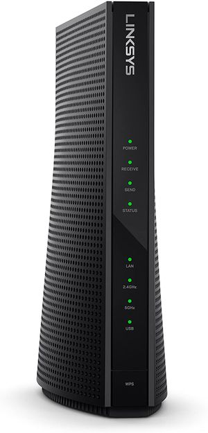 Linksys 2-in-1 AC1900 Wi-Fi Router & High Speed Cable Modem (CG7500) for Sale in San Fernando, CA