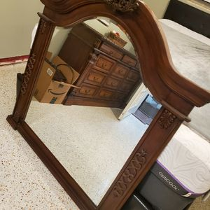 Wood mirror for Sale in Clearwater, FL