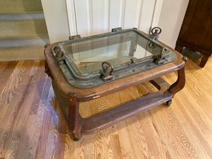 Maritime Voyager Porthole Coffee Table for Sale in Sammamish, WA