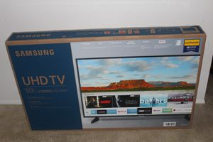 """Samsung NU6900 6 Series UN50NU6900 50"""" 2160p CERTIFIED UHD LED Internet TV. Condition is New still in box never used. for Sale in DuPont, WA"""