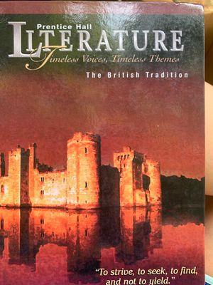 Prentice Hall, Literature The British Tradition for Sale in Sacramento, CA