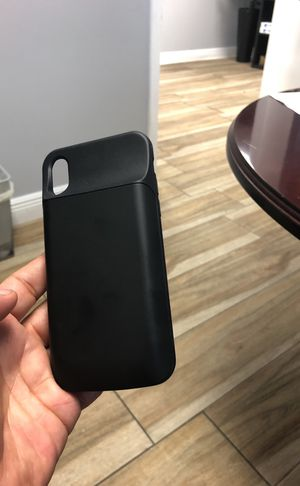 Mophie for IPhone X 6000 mAh for Sale in Miami, FL