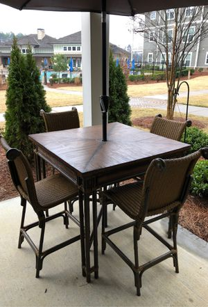 Resin Outdoor Patio Furniture VERY NICE! for Sale in Greenville, SC