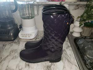 Hunter tall purple womens rain boots for Sale in Covington, KY