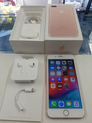 NEW IN BOX APPLE iPHONE 7 PLUS 128GB UNLOCKED VERIZON AT&T CRICKET MET for Sale in Fresno, CA