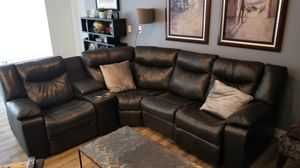 5 piece section reclining sofa for Sale in San Diego, CA