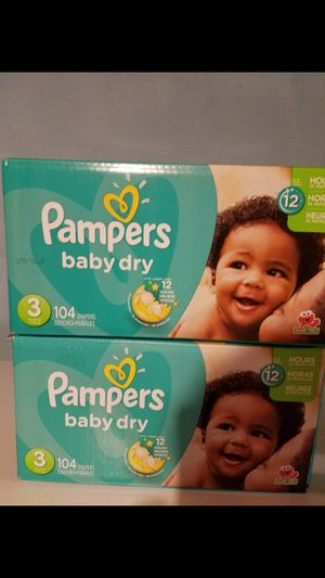 Pampers size 3,$20.00 each box for Sale in Blacklick, OH