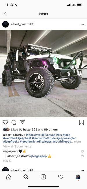 Jeep Wrangler wheels for Sale in Miami Springs, FL