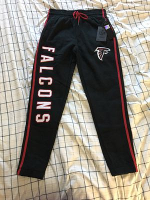 NWT Atlanta Falcons Black Sweatpants for Sale in TEMPLE TERR, FL