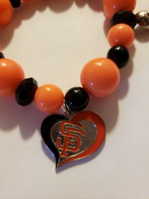 Handmade one of a kind San Francisco giants bracelet for Sale in Salinas, CA