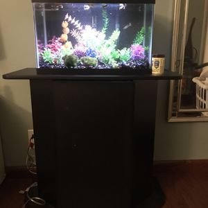 10 Gallon Fish Tank With 29 Gallon Stand for Sale in Rowland Heights, CA