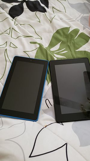 2 Amazon Kindle fire tablets for Sale in Cleveland, OH