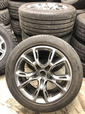 20x10 Jeep Grand Cherokee srt10 wheels and tires for Sale in Detroit, MI