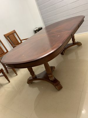 Pure wood dining table (Only table) in good condition. for Sale in Miami, FL