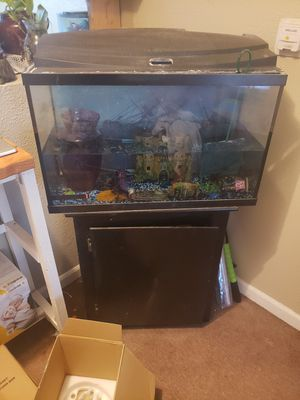 Fish tank and stand for Sale in Stockton, CA