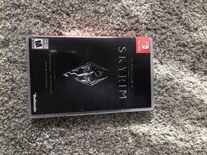 Skyrim Nintendo Switch for Sale in Murfreesboro, TN