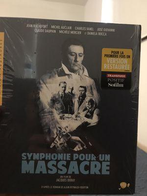 Blu Ray (symphonie pour un massacre) English sub for Sale in Bal Harbour, FL