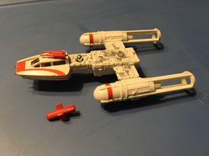 Star Wars 1979 cast iron Y-Wing COMPLETE w/red BOMB for Sale in Abilene, TX