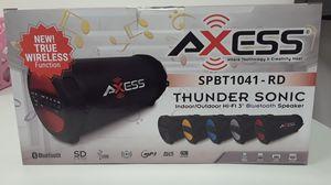 Axess Thunder Sonic Bluetooth Speaker for Sale in Ottumwa, IA