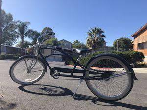 "New Micargi 26"" Stretch Beach Cruiser Bicycle 68 spokes matte Black for Sale in Pittsburg, CA"