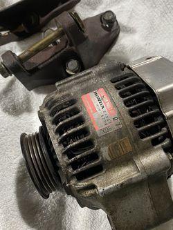 OEM Honda Denso CJU31 B-Series Alternator w/ Upper & Lower bracket mounts/hardware B18C B16A Integra Civic for Sale in Seattle,  WA