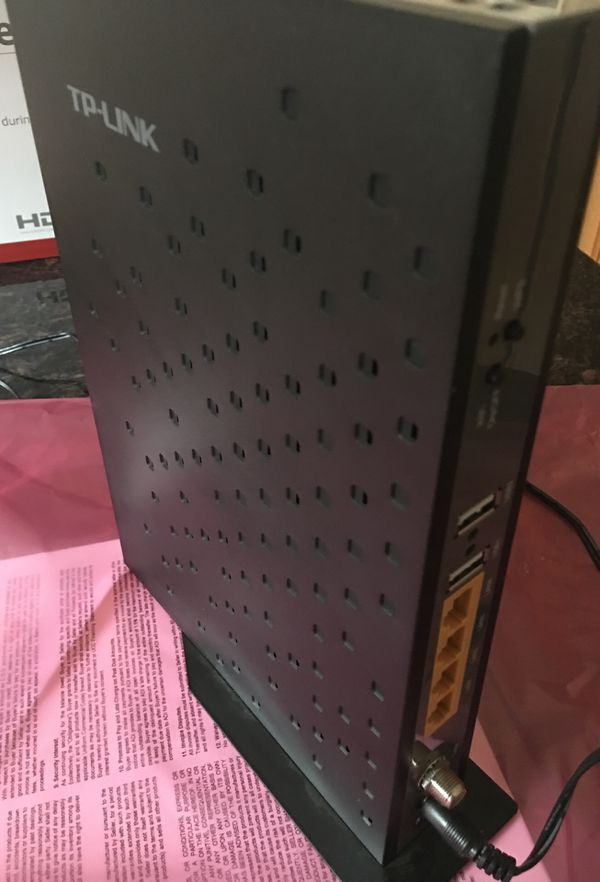 Cable Modem/Router