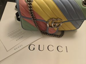 Gucci Marmont multicolor small bag for Sale in Metairie, LA