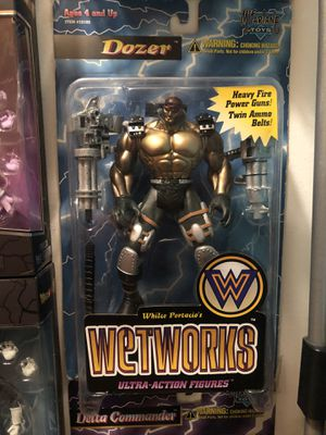 McFarlane Toys Wetworks Dozer Action Figure for Sale in Chicago, IL