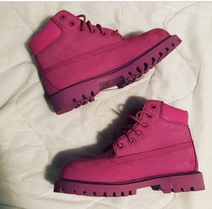 Pink Toddler Girls Timberland Boots Size 11 for Sale in Pflugerville, TX