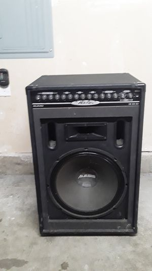 PA amplifier and speaker for Sale in SeaTac, WA