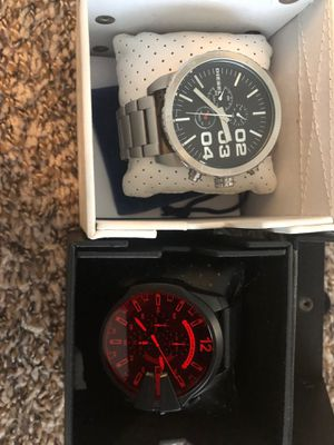 Diesel Brand Men's Watches big face. for Sale in Concord, NC