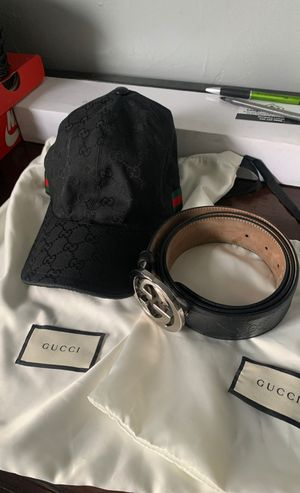 Gucci hat & belt 500 for Sale in WARRENSVL HTS, OH