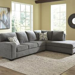 NEW, CHARCOAL COLOR, RAF CORNER CHAISE SECTIONAL. for Sale in Santa Ana,  CA