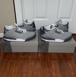 """Air Jordan 3 Retro """"Cool Grey"""" (2021) Size 14 IN HAND BRAND NEW for Sale in Las Vegas,  NV"""