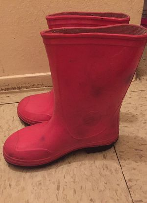 Rain boots girls for Sale in Reedley, CA