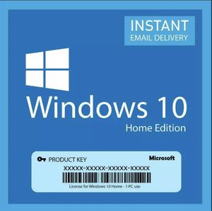 Windows 10 Home 32/64 BIT Genuine Activation key for Sale in Coral Gables, FL